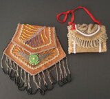 IROQUOIS WHIMSEY BEADED PURSES (2)
