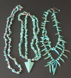 3 TURQUOISE NECKLACES