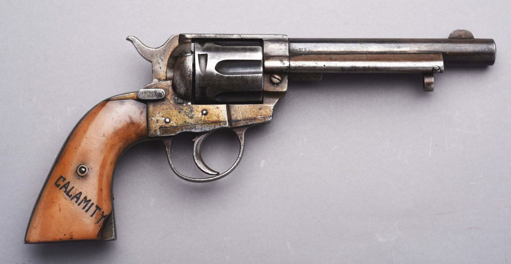 Lot: (a) Colt 1873 Type Revolver Documented To 3 Major Western