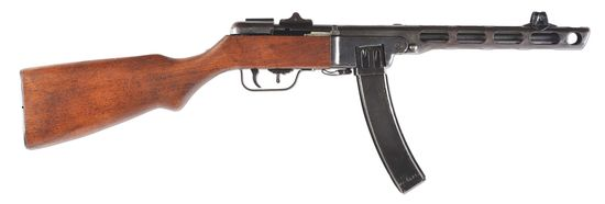 (N) Highly Sought Soviet Russian WW2 PpSh-41 Machine Gun (CURIO & RELIC)