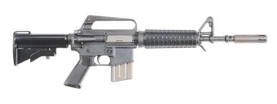 (N) Extremely Rare and Sought After Colt Model 639 Carbine Variant of the M16 Machine Gun With Moder