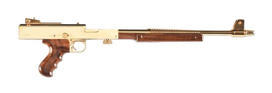 (N) Absolutely Magnificent UNFIRED Gold M-2 Limited Edition American Arms – American 180 Machine Gun