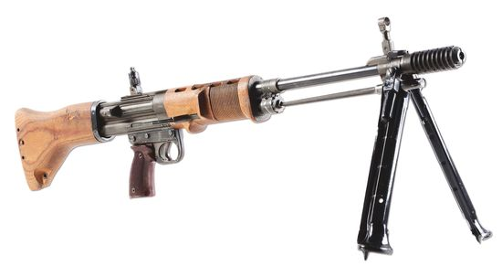 (N) Absolutely Fabulous Incredibly Sought After German FG-42 2nd Model Machine Gun (FULLY TRANSFERAB