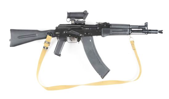 """(N) Extremely Fine Condition ITM Arms Co """"Peter Fleis"""" Converted AK-74 Semi-Automatic Short Barreled"""