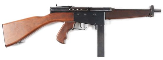 (N) Police Ordnance Co. Model 6 Machine Gun (CURIO & RELIC).