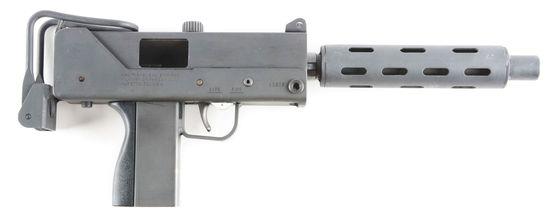 (N) Highly Popular Cobray RBP Industries MAC M10-A1 Military Armament Corp 9mm Machine Gun With Lots