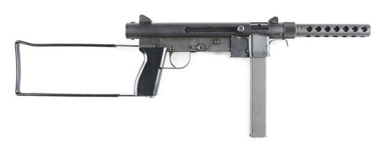 (N) Extemely Fine Smith & Wesson Model 76 Machine Gun (FULLY TRANSFERABLE).