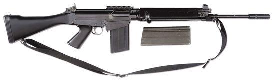 (N) High Condition Brazilian Manufactured FN-FAL Match Grade Machine Gun as Registered by Springfiel