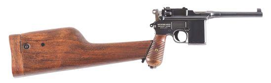 (N) Utterly Fantastic Original Condition Rare Mauser Broomhandle Model 712 Schnellfeuer Machine Gun
