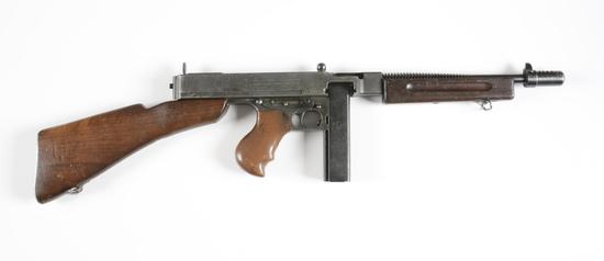 (N) Classic Savage Manufactured Military Model 1928A1 Thompson Machine Gun (CURIO & RELIC)