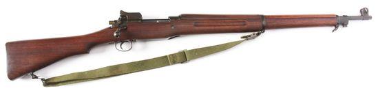 (C) US Eddystone Model 1917 Bolt Action Rifle.