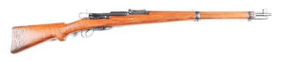 (C) Swiss K31 Bolt Action Rifle.