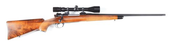 (C) Custom Rifle with FN Commercial Action Attributed to Al Biesen.