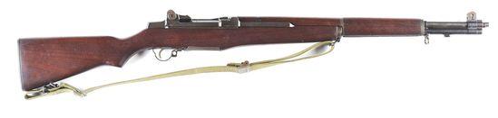 (C) H&R M1 Garand Semi-Automatic Rifle.
