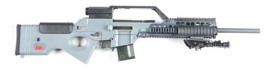 (M) HK SL8-1 Semi-Automatic Rifle.