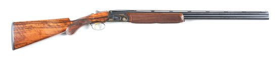 "(M) Cased Sigarms L.L. Bean ""New Englander"" 28 Bore O/U Shotgun."