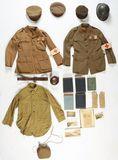 World War I Identified American Ambulance Service Uniform Group.