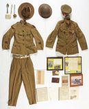 World War I Identified U.S. Army Ambulance Service And Red Cross Groups.