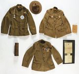 3 WWI US Army Uniforms: Third Corps, Third Division And 78th Division.