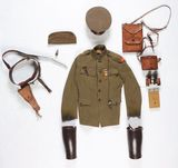 2 World War I US Corps Of Engineers Officer's Uniform Groups.