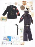 Identified World War I & World War II U.S. Navy Groups.