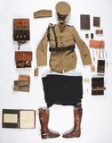 World War I U.S. Army Identified Medical Corps Officer's Uniform Group.