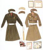 Lot of 3: World War II Women's Army Corps Uniforms / Groups.