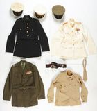 Lot Of USMC Officer's Uniforms And Groups.