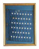 46 Star Silk US Navy Jack.