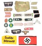 LOT OF 26: THIRD REICH MISCELLANEOUS INSIGNIA.