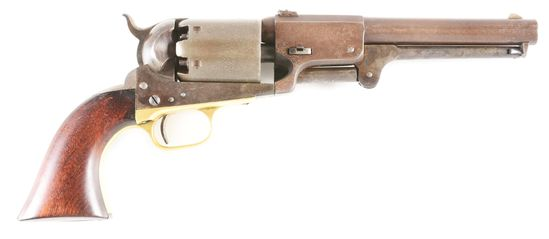 (A) REPRODUCTION AGED COLT THIRD MODEL DRAGOON SINGLE ACTION REVOLVER.