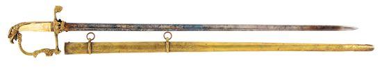 EAGLE HEAD INFANTRY OFFICER'S SWORD C. 1821-1835.