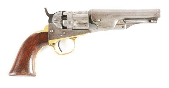 (A) COLT 1862 POCKET POLICE REVOLVER.