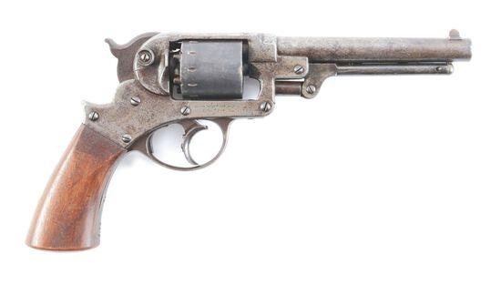 (A) STARR 1858 ARMY REVOLVER.