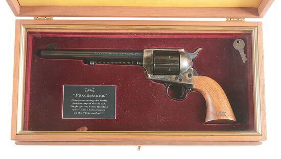 (M) COLT SINGLE ACTION ARMY REVOLVER 1873 PEACEMAKER CENTENNIAL