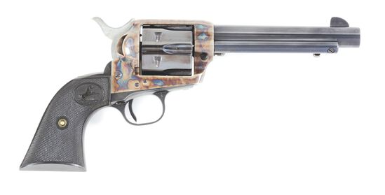 (C) COLT SINGLE ACTION ARMY .44 SPECIAL REVOLVER.
