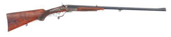(C) F. ULM SINGLE SHOT ROOK RIFLE.
