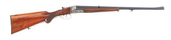 (C) J. P. SAUER & SOHN SINGLE SHOT STALKING RIFLE.