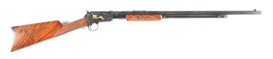 (C) WINCHESTER 1890 SLIDE ACTION RIFLE.