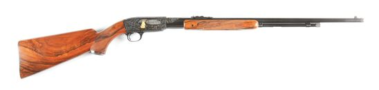 (C) WINCHESTER 61 SLIDE ACTION RIFLE (1956).