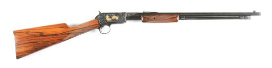 (C) WINCHESTER 06 SLIDE ACTION RIFLE.(1935)