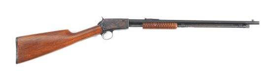 (C) WINCHESTER 06 SLIDE ACTION RIFLE.