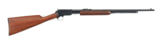 (C) WINCHESTER 62A SLIDE ACTION RIFLE.