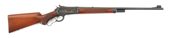 (C) HIGH CONDITION PRE-WAR WINCHESTER 71 DELUXE LEVER ACTION RIFLE.