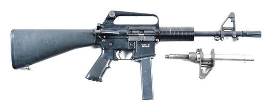 (N) TL GUNS & MFG CONVERTED PWA COMMANDO SEMI-AUTOMATIC SHORT BARREL RIFLE. (SHORT BARREL RIFLE).