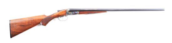 (C) A.H. FOX STERLINGWORTH BRUSH SIDE BY SIDE SHOTGUN.