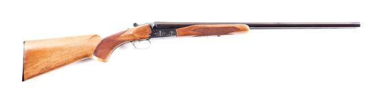 (M) BROWNING BSS 12 BORE DOUBLE BARREL SHOTGUN.