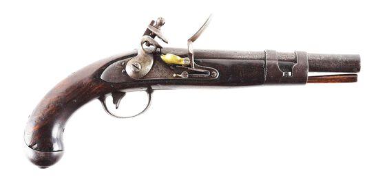 (A) SCARCE SIMEON NORTH US MODEL 1813 NAVAL PISTOL.