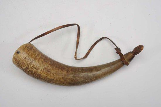 Early Powder Horn.