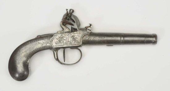Fabrique (Teculenburg) Flintlock .44 Cal Pistol**
